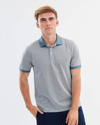 Cotton Patterned Polo