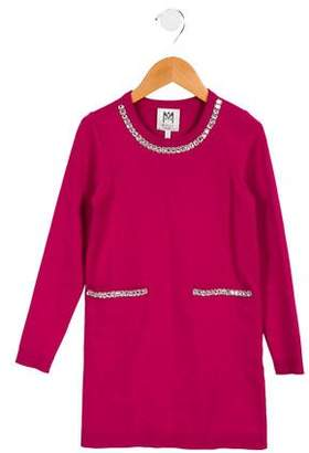 Milly Minis Girls' Embellished Knit Dress