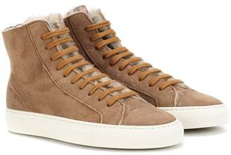 Common Projects Tournament shearling sneakers