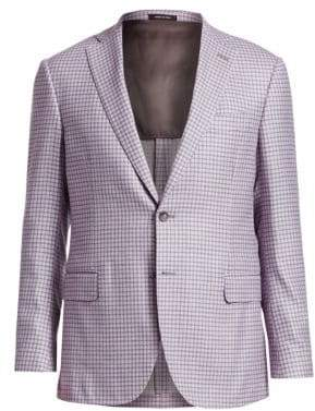 Saks Fifth Avenue COLLECTION Check Sportcoat