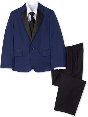 Nautica (ノーティカ) - Nautica Little Boys 4-Pc. Tuxedo Jacket, Shirt, Pants & Necktie Set