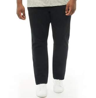 36a4f169c2ac1 French Connection Mens Plus Size James 5 Pocket Chinos Black