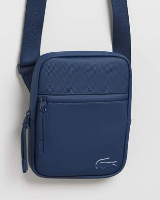 Lacoste Concept S Flat Crossover Bag