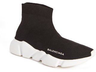 Women's Balenciaga Slip-On Trainer Sneaker $545 thestylecure.com