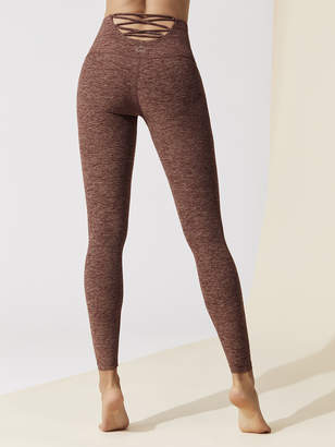 Beyond Yoga ACROSS THE STRAP HIGH WAISTED MIDI LEGGING