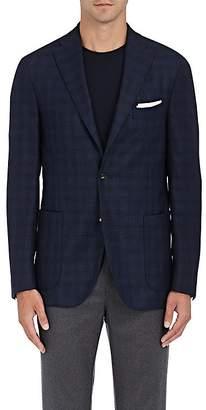 Boglioli Men's Plaid Wool Twill Two-Button Sportcoat