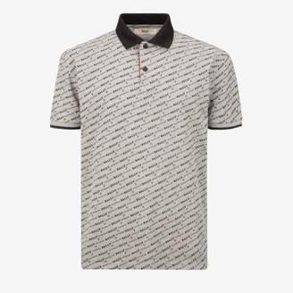 Bally Monogram Polo Shirt