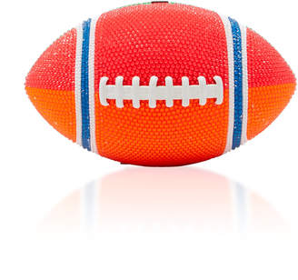 Judith Leiber Couture Playoffs Football Crystal-Embellished Clutch
