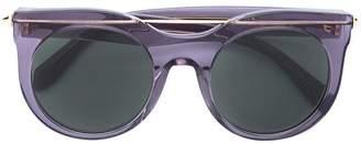 Alexander McQueen Eyewear round-frame sunglasses