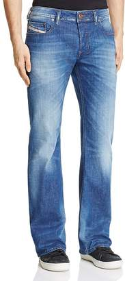 Diesel Zathan Straight Fit Jeans in Denim $198 thestylecure.com