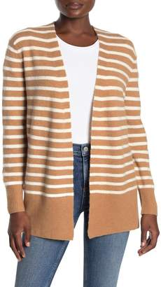 Madewell Cozy Short Walker Stripe Cardigan