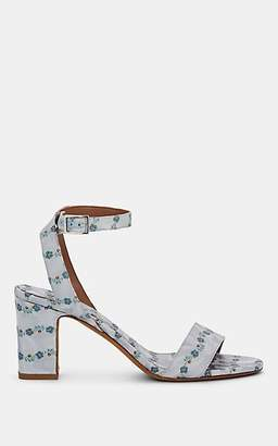 Tabitha Simmons Women's Leticia Floral Jacquard Sandals - Ltblusjaq