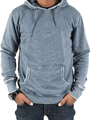 Jack of all Trades Men's Burnout Fleece Pullover Hoodie