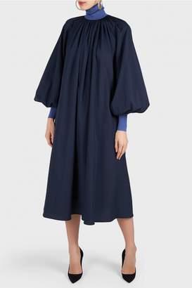 Roksanda Cressida High Collar Dress