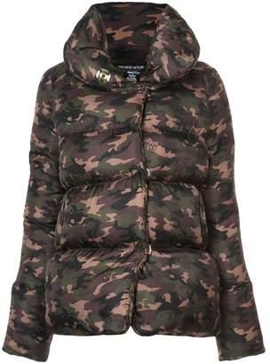 Thomas Wylde camouflage padded jacket