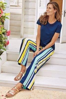 Soft Surroundings Bellaforte Silk Pants
