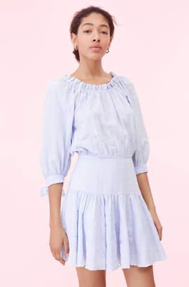 Rebecca Taylor Cotton Stripe Dress