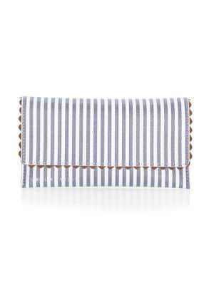 Loeffler Randall Everything Stripe Leather Wallet