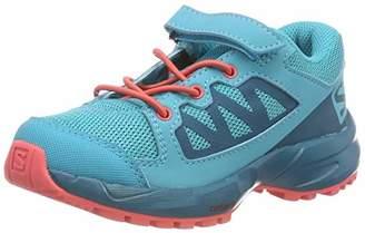 Salomon Unisex Kids' XA Elevate K Trail Running Shoes, Blue Bluebird/Deep Lagoon/Dubarry, 8 (26 EU)