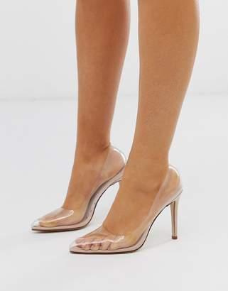 c9e47c4b75c Steve Madden Clear Heels - ShopStyle