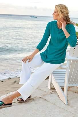 Soft Surroundings Antigua Knit Crop Pants