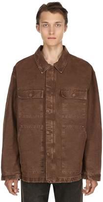 Yeezy Oversize Carpenter Washed Canvas Jacket