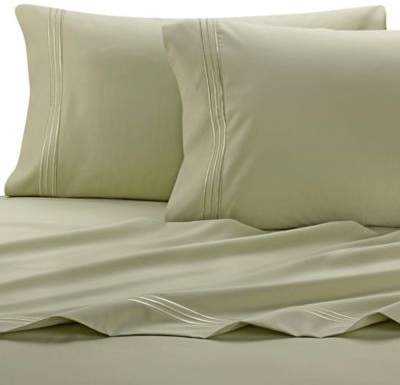 PureCare® Celliant 400-Thread-Count Queen Pillowcases in Green (Set of 2)