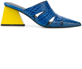 Marques'almeida cut out pointed mules