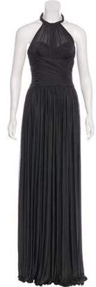 Dolce & Gabbana Silk Pleated Dress Silk Pleated Dress