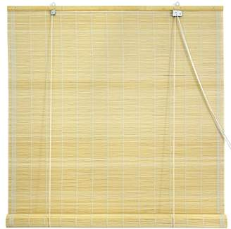 Oriental Furniture Matchstick Roll Up Blinds - Natural - (36 in. x 72 in.)