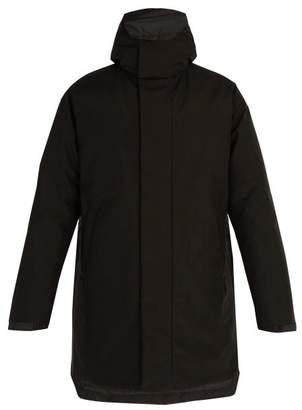 Prada Hooded Down Padded Parka Jacket - Mens - Black
