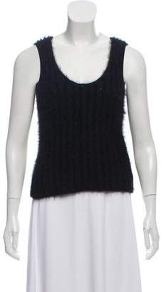 Chanel Angora Sleeveless Top