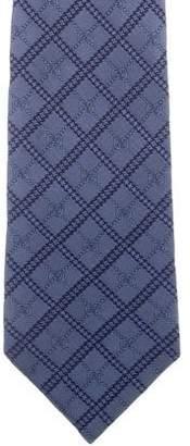 Gucci Dotted Pattern Silk Tie