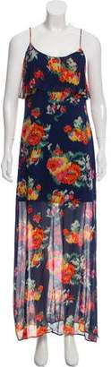 Joie Printed Maxi Dress