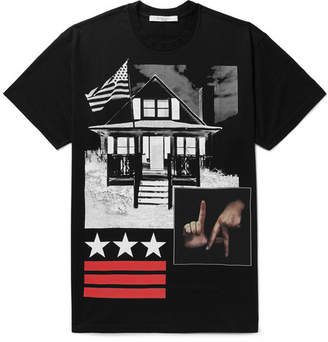 Givenchy Columbian-Fit Printed Cotton-Jersey T-Shirt