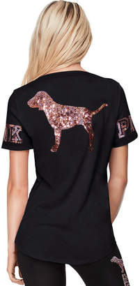 PINK Bling Perfect V-Neck Tee