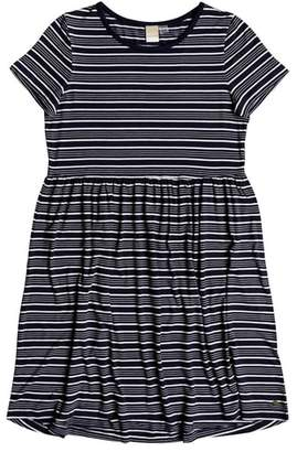 Roxy Fame For Glory Stripe T-Shirt Dress
