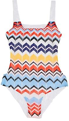 Missoni Kids' Zigzag-Knit One-Piece Swimsuit
