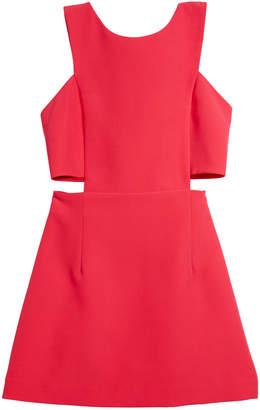 Milly Italian Cady Cutout Mini Dress, Size 7-16