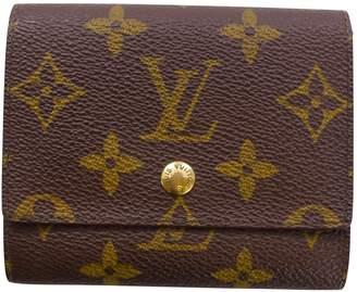 Louis Vuitton Brown Leather Purses, wallets & cases