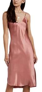 Nili Lotan Women's Silk Cami Dress - Vintage Rose