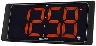 Acctim Coloma LED Digital Display Radio Controlled Alarm Clock, Black