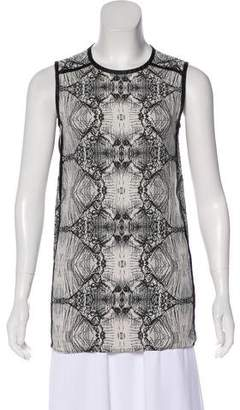 J Brand Printed Sleeveless Top
