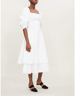 REJINA PYO Cameron cotton midi dress