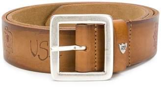 HTC Los Angeles printed buckle belt