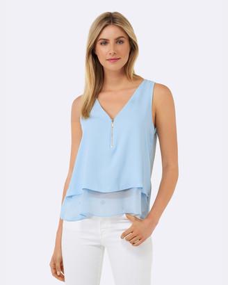 1503d63730fbfa Forever New Blue Tops For Women - ShopStyle Australia