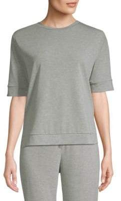 Saks Fifth Avenue Short Sleeve Fleece T-Shirt