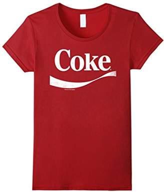 Coca-Cola Vintage White Coke Logo Graphic T-Shirt