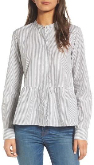 Women's Madewell Peplum Shirt