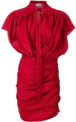 Magda Butrym Reno Polka Dot Mini Dress